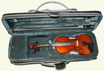 Threequartersize violin for sale from The Violin Company